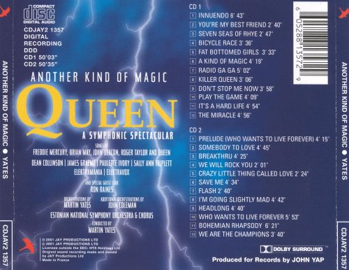 Queen: A Symphonic Spectacular - Another Kind of Magic