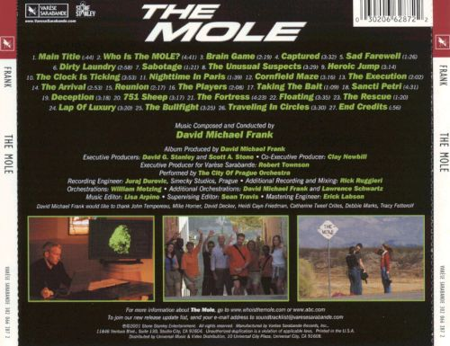The Mole [Original Television Soundtrack]