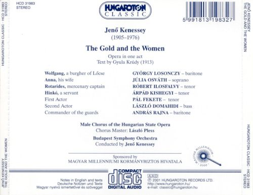 Jeno Kenessey: Gold and the Woman