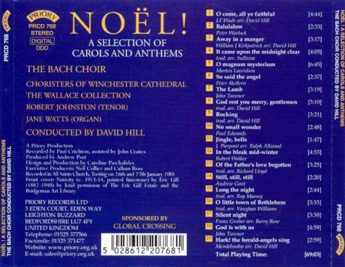 Noël: A Selection of Carols and Anthems
