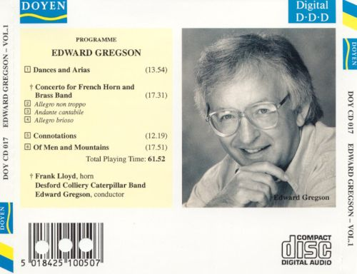 Brass Music Composed and Conducted by Edward Gregson