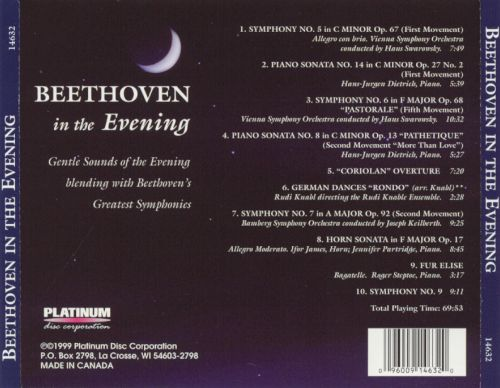 Beethoven in the Evening