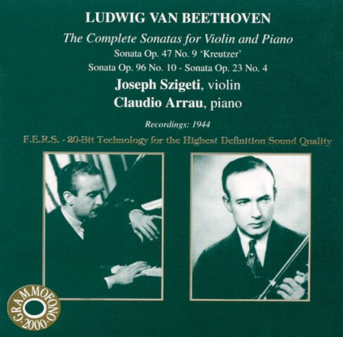 Beethoven: Violin Sonatas, Vol. 3