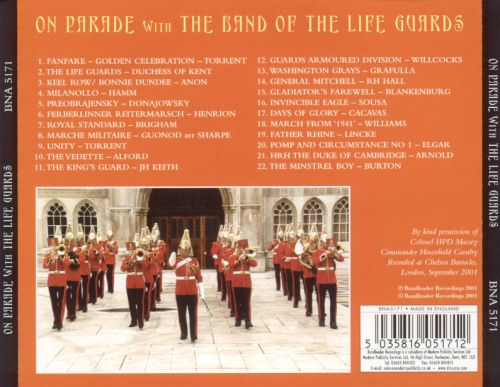On Parade with the Band of the Life Guards