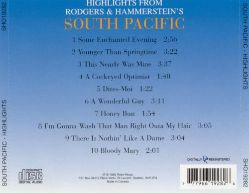 Rodgers & Hammerstein: South Pacific (Highlights)