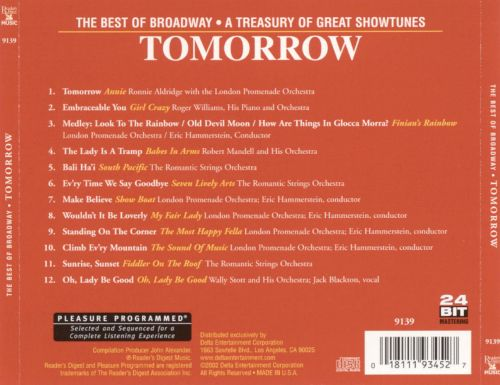 Tomorrow: The Best of Broadway