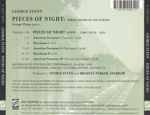 George Flynn: Pieces of Night: Three American Nocturnes