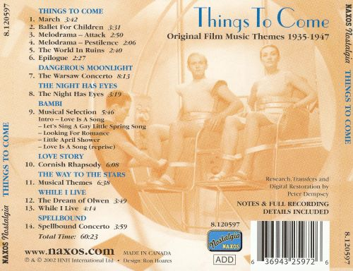 Things to Come: Original Film Music Themes 1935-1947