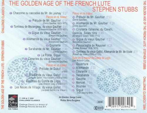 The Golden Age of the French Lute