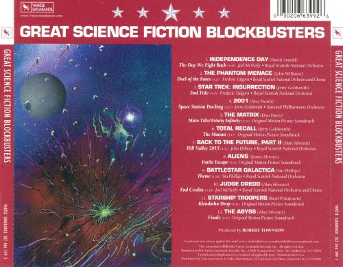 Great Science Fiction Blockbusters: Five Star Coll