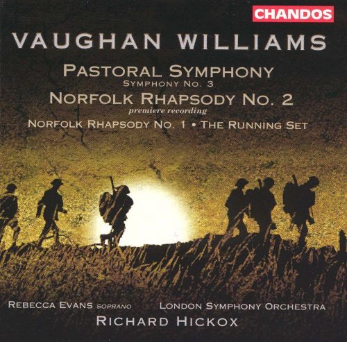 vaughan williams pastoral symphony norfolk rhapsody no 2 richard hickox songs reviews. Black Bedroom Furniture Sets. Home Design Ideas