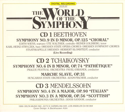 The World of the Symphony, Vol. 1