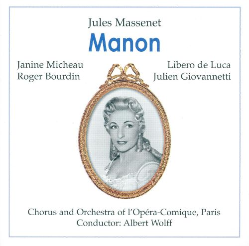 Manon, opera in 5 acts