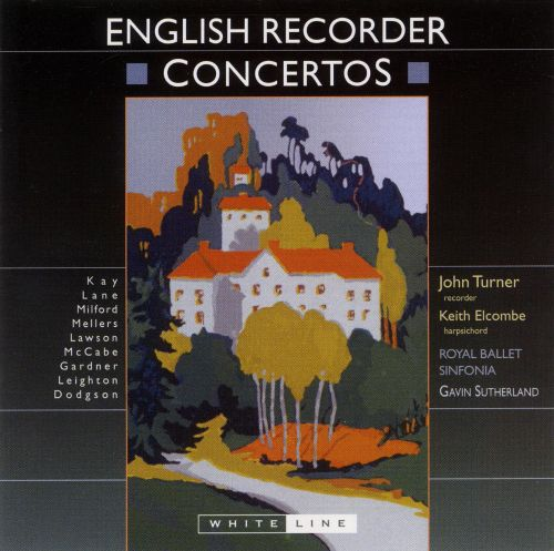 English Recorder Concertos