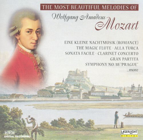 The Most Beautiful Melodies of Wolfgang Amadeus Mozart
