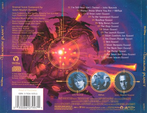 Treasure Planet [Original Motion Picture Score] - James ...
