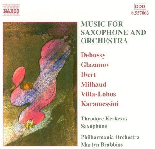 Music for Saxophone and Orchestra