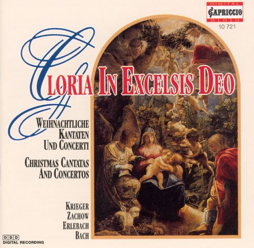 Gloria in Excelsis Deo: Christmas Cantatas and Concertos - Klaus Eichhorn   Songs, Reviews ...