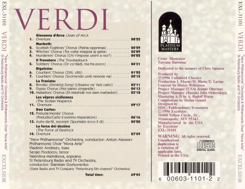 Verdi: Choirs and Overtures