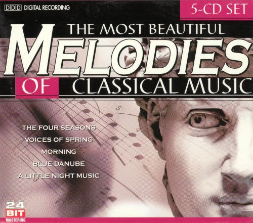 The Most Beautiful Melodies of Classical Music [5-disc set]