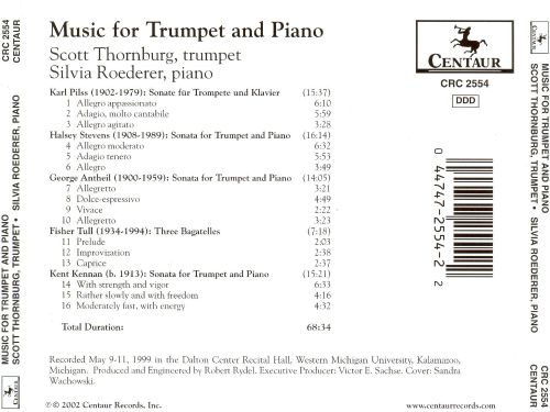 Music for Trumpet and Piano
