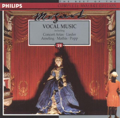Mozart: Vocal Music (including Concert Arias and Lieder)