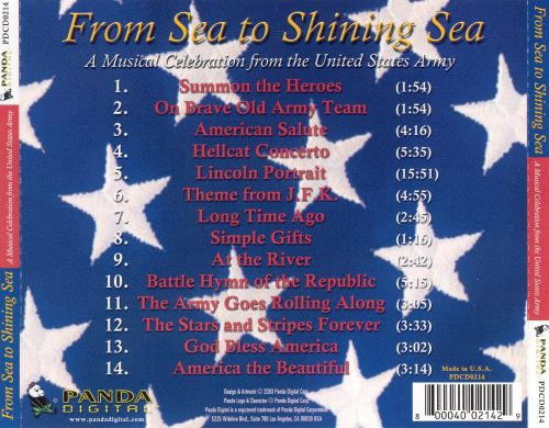 From Sea to Shining Sea: A Musical Celebration from the United States Army