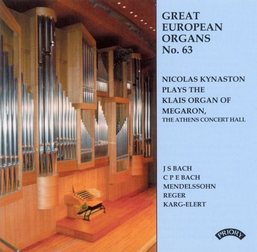 Nicolas Kynaston Plays The Klais Organ of Megaron