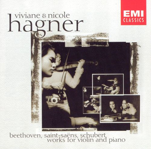 Beethoven, Saint-Saëns, Schubert: Works for Violin and Piano