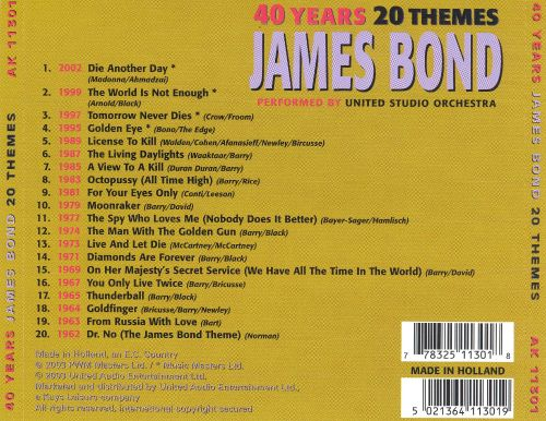 40 Years of James Bond: 20 Themes