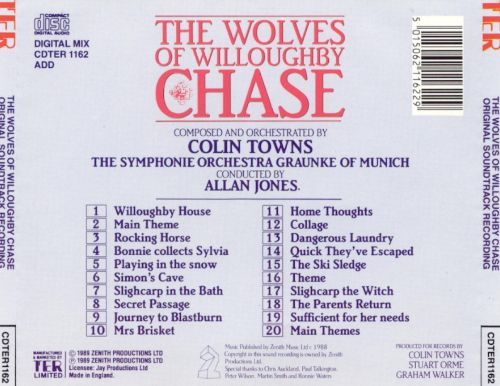 The Wolves of Willoughby Chase (Original Soundtrack Recording)