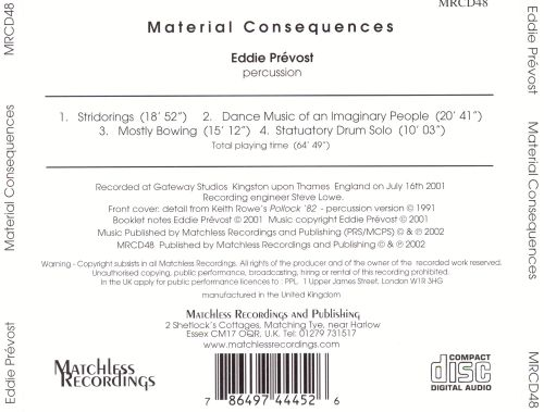 Material Consequences