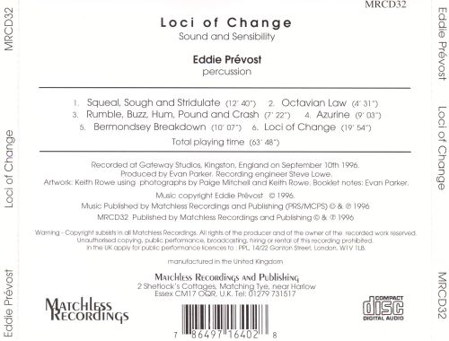 Loci of Change: Sound and Sensibility