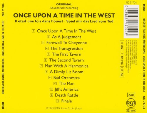 Once upon time in the west soundtrack download
