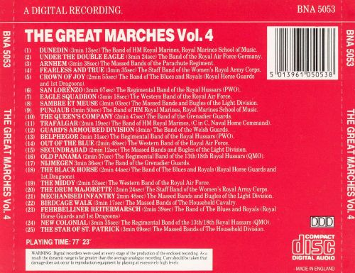 The Great Marches, Vol. 4