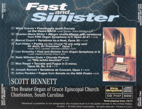 Fast and Sinister
