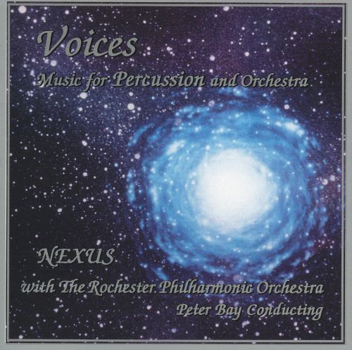 Voices: Music for Percussion and Symphony Orchestra