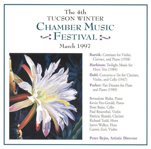 The 4th Tucson Winter Chamber Music Festival, March 1997