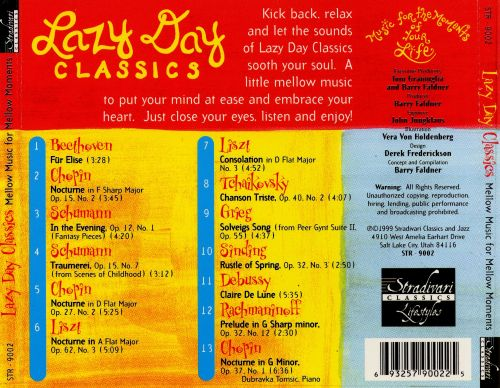 Lazy Day Classics: Mellow Music for Mellow Moments