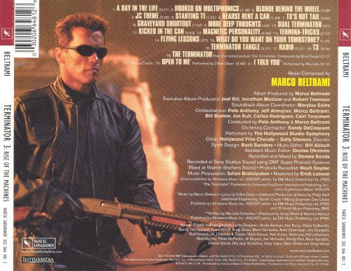 Terminator 3: Rise of the Machines [Original Motion Picture Soundtrack]