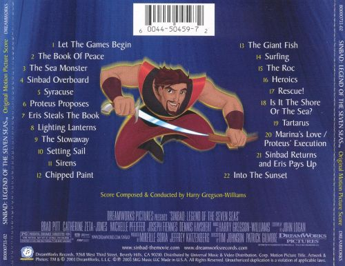 Sinbad, Legend of the Seven Seas [Music from the Motion Picture Score]