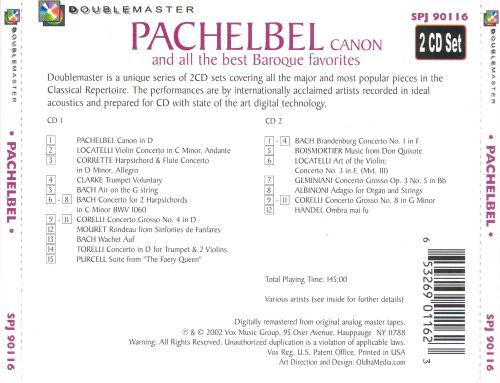 Pachelbel Canon and All the Best Baroque Favorites