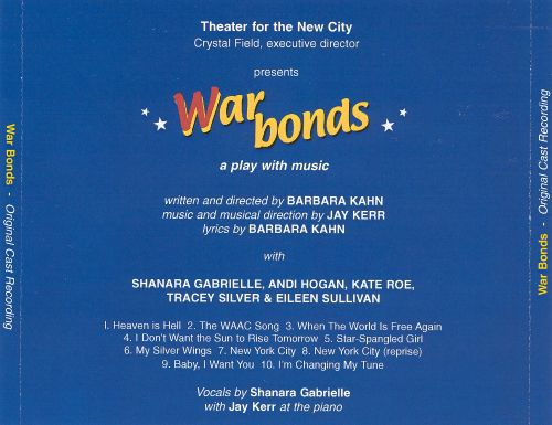 War Bonds [Original Cast Recording]