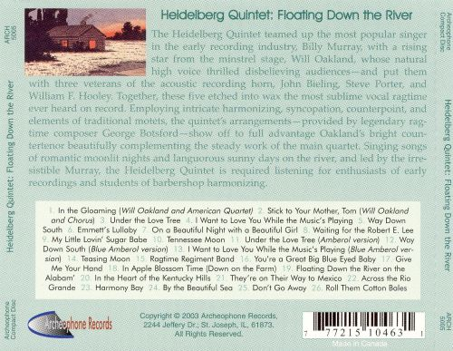 Floating Down The River: Complete Releases 1912-1914