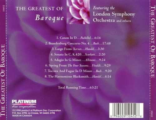 The Greatest of Baroque