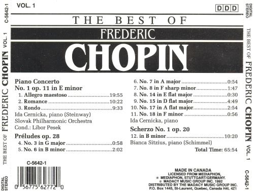 The Best of Frederic Chopin, Vol. 1