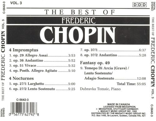 The Best of Frederic Chopin, Vol. 3