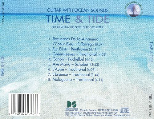 Guitar with Sounds of Nature: Time and Tide