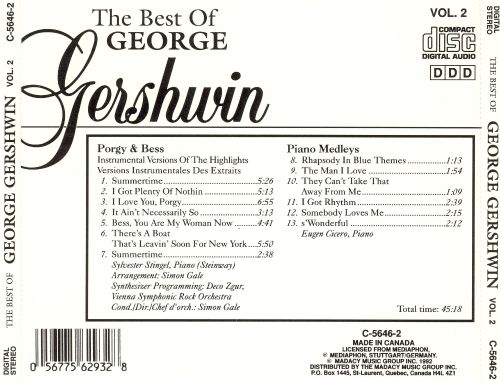 The Best of George Gershwin, Vol. 2