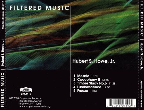 Hubert S. Howe, Jr.: Filtered Music